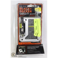 NEW BLACK & DECKER INVERTER