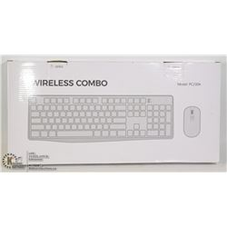 WIRELESS COMBO KEYBOARD AND MOUSE