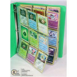 180 VARIOUS POKEMON CARDS IN BINDER