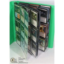 180 VARIOUS MTG MAGIC CARDS IN BINDER