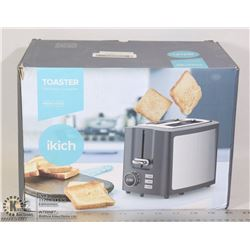 IKITCH 2 SLICE TOASTER