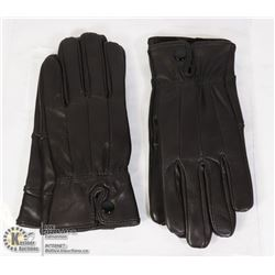 LADIES LEATHER GLOVES SMALL