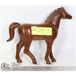 HORSE HAND CARVED