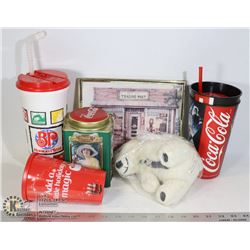 LOT OF PLASTIC STYLE & TRAVEL CUPS