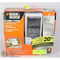 BLACK & DECKER POWER MONITOR