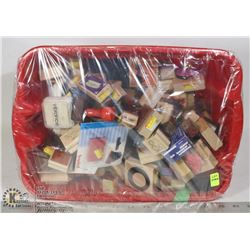 STAMPIN UP AND MORE TUB OF STAMPS