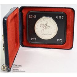 1973 RCMP ISSUE SILVER DOLLAR IN RCMP BOX