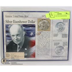 1974S USA SILVER EISENHOWER DOLLAR.