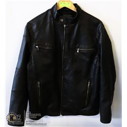 MEN'S DANIEL MARCUS LEATHER JACKET - SIZE