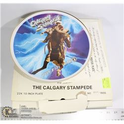 1981 CALGARY STAMPEDE COLLECTOR PLATE 1111 OF 1800