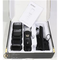 SUPRENT RECHARGEABLE HAIR CLIPPER WITH ACCESSORIES