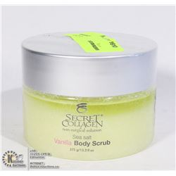 SECRET COLLAGEN ORGANIC SEA SALT VANILLA BODY