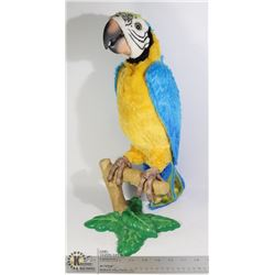 HASBRO INTERACTIVE PARROT WITH STAND