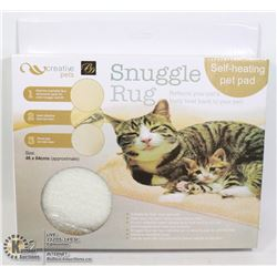 NEW SNUGGLE RUG (46 X 64CM) SELF HEATING PET PAD