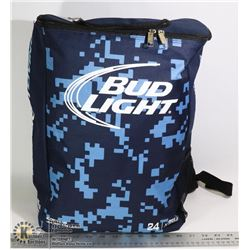 BUD LIGHT BACKPACK- HOLDS 24 CANS OF BEER