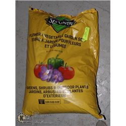 UNCLAIMED BAG OF FLOWER AND VEGETABLE SOIL