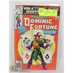 MARVEL PREMIERE # 56 DOMINIC FORTUNE COMIC