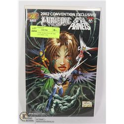 WITCHBLADE VS BATTLE OF THE PLANETS # COMIC CON
