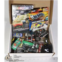 BOX- NASCAR MEMORABILIA