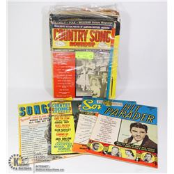 BAG- MUSIC MAGAZINES FROM 50'S