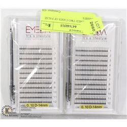 UNCLAIMED TWO CASES OF FALSE LASHES