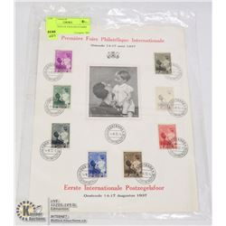 COLLECTION OF ENGLISH STAMPS