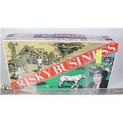 2 VINTAGE BOARD GAMES RISKY BUSINESS & STRATEGO