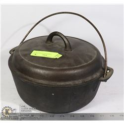 "10.5"" CAST-IRON DUTCH OVEN WITH LID"