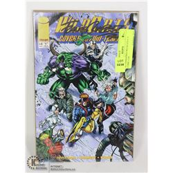 AUTOGRAPHED WILDCATS # 15 COMIC CON