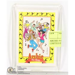 ARCHIE # 62 PROTOTYPE CARD LIMITED EDITION