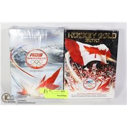 TWO UNOPENED VANCOUVER 2010 MENS OLYMPIC HOCKEY