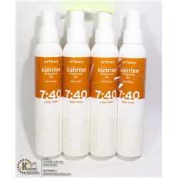 FOUR BOTTLES OF ARTEGO PROTECTIVE OIL WITH