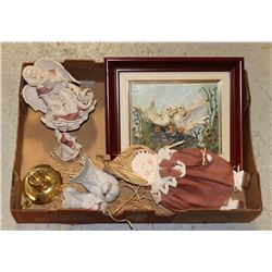 FLAT OF HOME DECOR AND DECORATIVE ITEMS