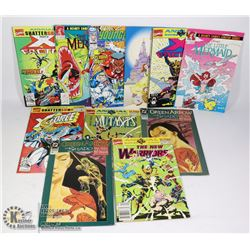 FLAT OF COMIC BOOKS INCLUDING THE LITTLE