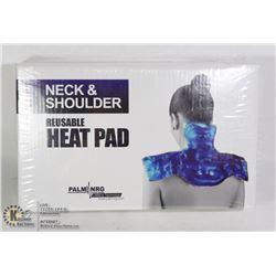 NEW PALM NRG REUSABLE NECK & SHOULDER HEAT PAD