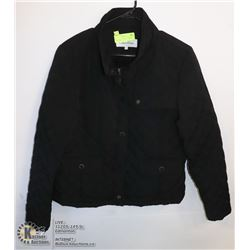 WOMENS CALVIN KLEIN BLACK JACKET SIZE LARGE