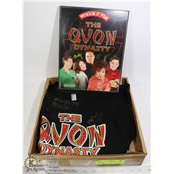 "BOX WITH ""THE QUON DYNASTY"" SIGNED"