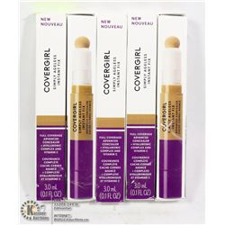 FIVE COVERGIRL SIMPLY AGELESS INSTANT FIX
