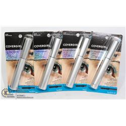 LOT OF 4 COVERGIRL EXHIBITIONIST MASCARA