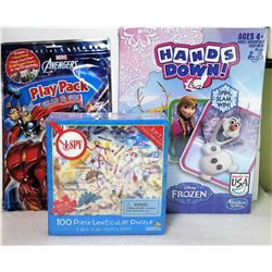18)  LOT OF 3 FACTORY SEALED GAMES, INCLUDES: