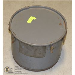 HEAVY DUTY LARGE METAL BUCKET WITH