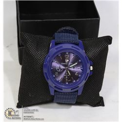 NEW GENIUS ARMY WATCH BLUE FACE