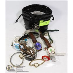 BAG - ASSORTED WATCHES