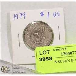 1979 1$  US SUSAN B ANTHONY