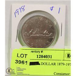1978 1$  DOLLAR 1879-1976