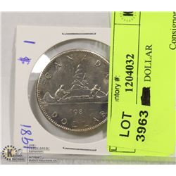 1981 1$ DOLLAR