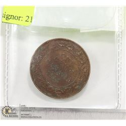 CAD 1912 LARGE PENNY