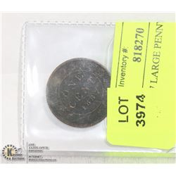 CAD 1887 LARGE PENNY