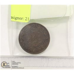 CAD 1901 LARGE PENNY
