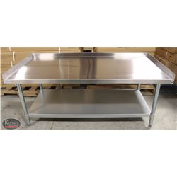 NEW 30 X60 X24  STAINLESS STEEL EQUIPMENT STAND W/